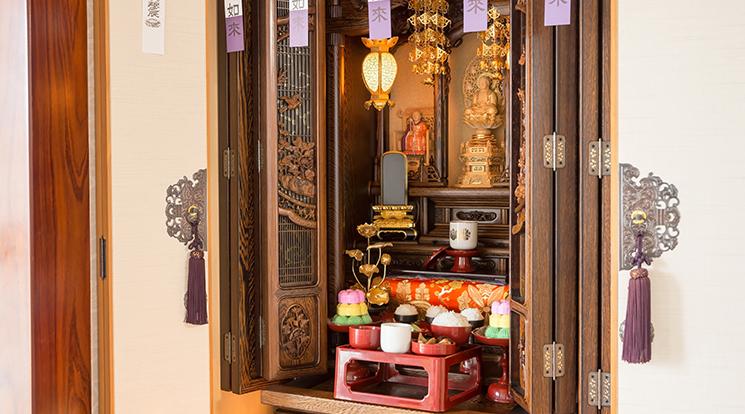 向き 仏壇 の