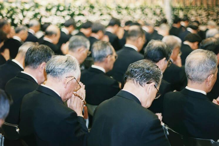社葬・合同葬の参列者イメージ